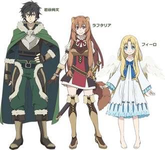 L'anime The Rising of the Shield Hero, en Chara Design