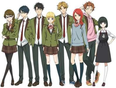 L'anime Tada Never Falls in Love (Tada-kun wa Koi wo Shinai), en Simulcast VOSTFR