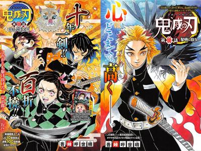 Le manga Kimetsu no Yaiba (Les Rôdeurs de la Nuit) adapté en anime