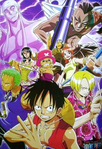 L'anime One Piece Episode of Skypiea, daté au Japon