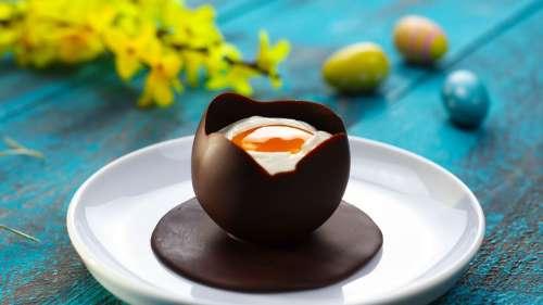 Recette : Oeuf de Pâques à la coque