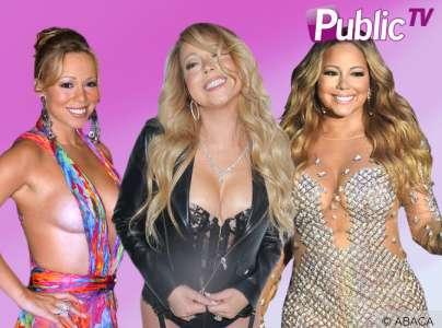 Mariah Carey en 10 tenues hot !