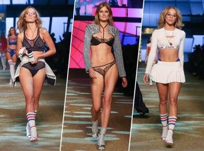 Fashion Week de Paris : Ilona Smet, Constance Jablonski, Jasmine Sanders... Toutes les photos du défilé Etam !