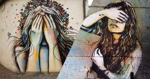 En Italie, un festival de street art a redonné vie à ce petit village dépeuplé
