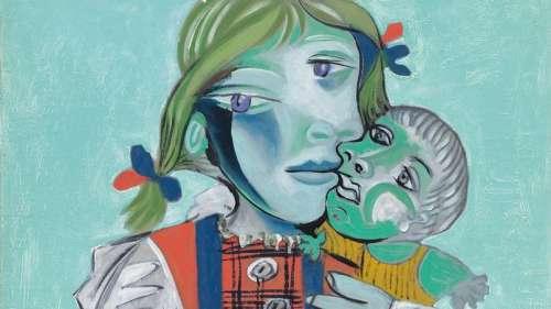 Picasso et Maya: tel père, telle fille