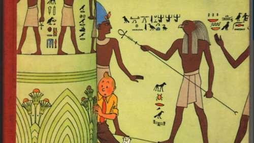 <i>Les Cigares du Pharaon</i>, une édition rare de Tintin aux enchères