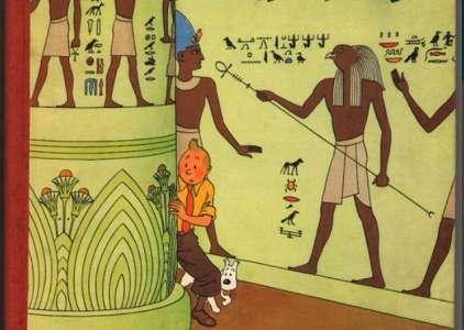 <i>Les Cigares du Pharaons</i>, une édition rare de Tintin aux enchères