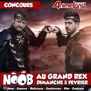 Soirée Noob au Grand Rex – gagnez vos places !
