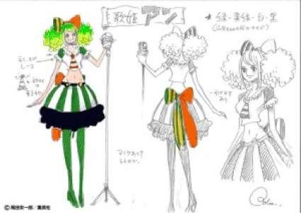 Découvrez Ann, le personnage original d'Oda pour l'attraction One Piece