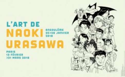 Naoki Urasawa invité à Angoulême et à Paris !