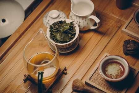 Thé vert et fleurs d'Osmanthus : synergie d'effets antioxydants bienfaisants
