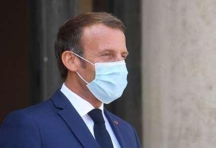 Emmanuel Macron au plus mal...