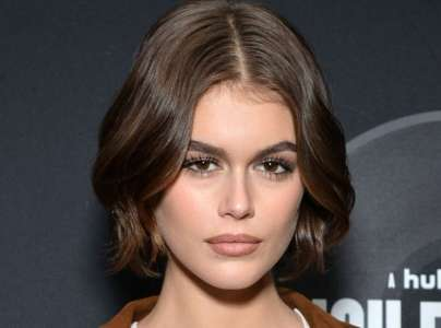 Fils et Fille de:  Kaia Gerber futur Top Model ?
