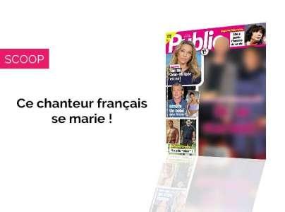 Magazine Public - Ce chanteur français se marie !