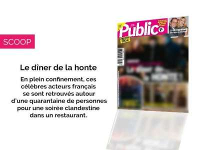 Magazine Public - Ce chanteur s'offre le dîner de la honte