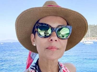 Les vacances au naturel de Cristina Cordula séduisent !