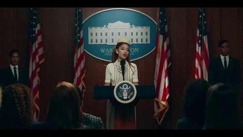 Ariana Grande présidente des USA ? Son nouveau clip fait déjà sensation