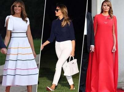 Melania Trump : voici combien a coûté sa garde-robe pour l'année 2019