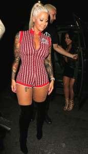 Amber Rose et son gros fashion faux pas...