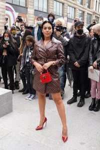 Fashion Week : Quand Georgina Rodriguez, la chérie de Cristiano Ronaldo, fait le buzz à Paris !