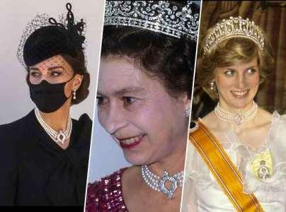 Kate Middleton : on a retrouvé ses bijoux, portés par Elizabeth II et Lady Diana !