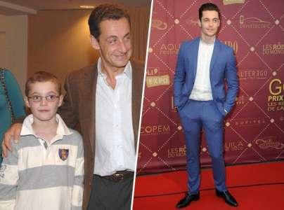 Louis Sarkozy : d'adolescent prépubère à adulte beau gosse...