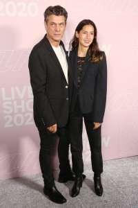 Marc Lavoine et Line Papin : rare apparition du couple lors de la Fashion Week de Paris