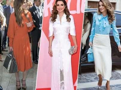 Rania De Jordanie Fete Ses 48 Ans Zoom Sur Le Style De La Rivale De Melania Trump Sur Buzz Insolite Et Culture