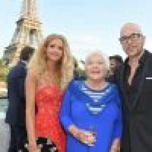 Pascal Obispo et sa femme Julie, complices pour l'anniversaire de Line Renaud