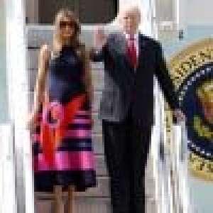 Melania Trump, First lady stylée en Europe, Donald snobé en Pologne