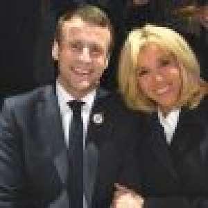 Brigitte Macron au bras d'Emmanuel pour un grand dîner avec François Hollande