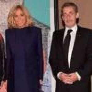 Brigitte Macron et Nicolas Sarkozy, unis pour un même combat, avec Vianney