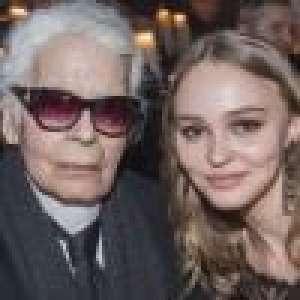 Karl Lagerfeld : Lily-Rose Depp se souvient de celui qui a tant cru en elle