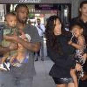 Kim Kardashian et Kanye West : Sortie complice avec les adorables North et Saint