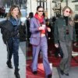 Fashion Week : Thylane Blondeau et les soeurs Hadid bravent le froid avec style