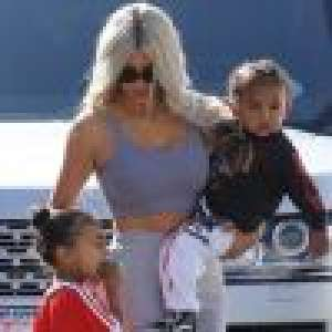 Kim Kardashian évoque sa fille North, très jalouse de Saint :