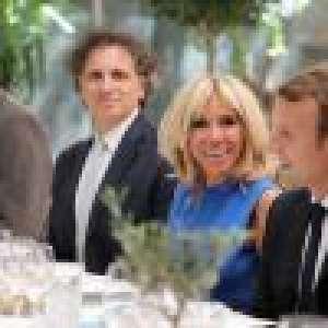 Brigitte Macron en bleu, blanc, rouge... Panoplie tricolore de looks en Grèce