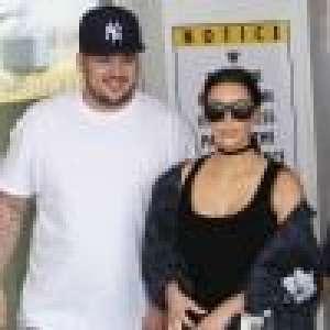 Kim Kardashian publie une rare photo de son frère Rob... métamorphosé !