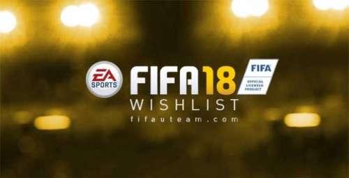 FIFA 18 Wishlist: Players Ratings