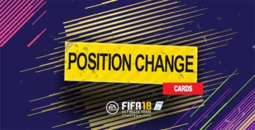 FIFA 18 Position Change Cards Guide