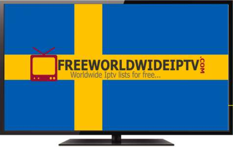 Sweden free updated channel HD Iptv m3u links 08/04/2019