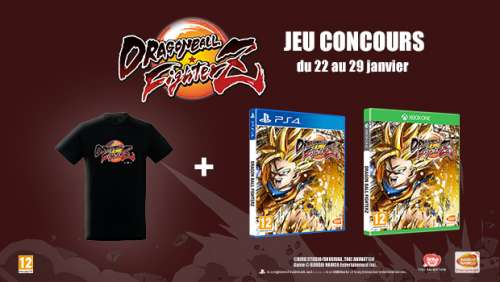Concours – Dragon Ball FighterZ