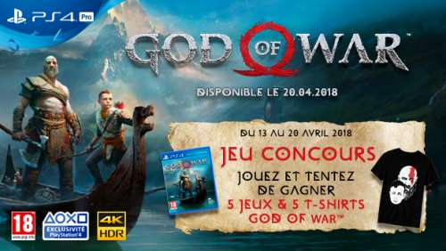 Concours – God Of War