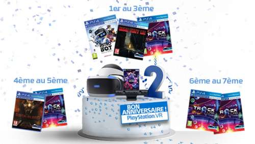 Concours PlayStation VR