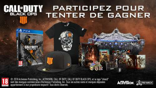 Concours Call of Duty : Black Ops 4