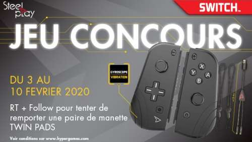 Concours – Twin Pads SteelPlay