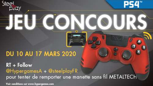 Concours – Manette SteelPlay