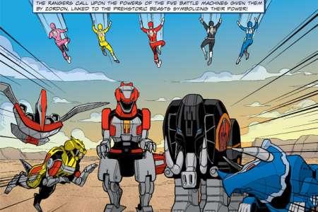 BOOM! Studios publiera Saban's GO GO Power Rangers