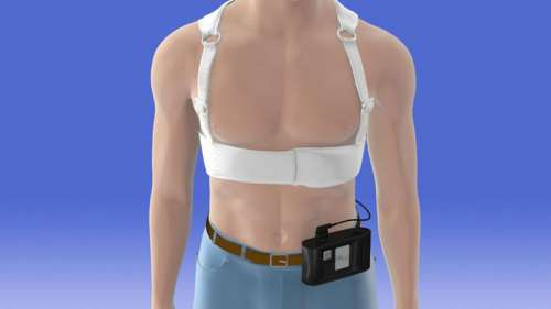 Des bretelles connectées pour éviter les infarctus