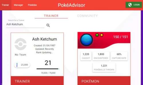 PokéAdvisor : calcul automatique de l'IV (Pokemon Go)